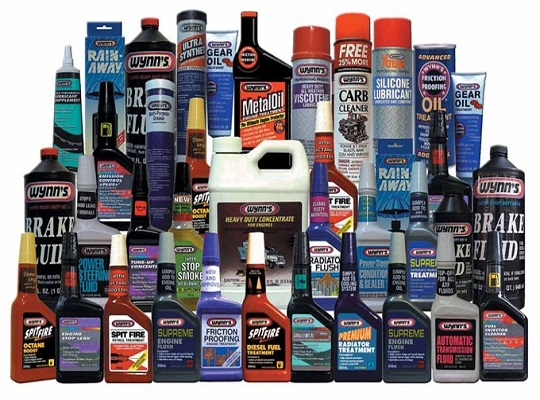Maintenance Fluids & Greases
