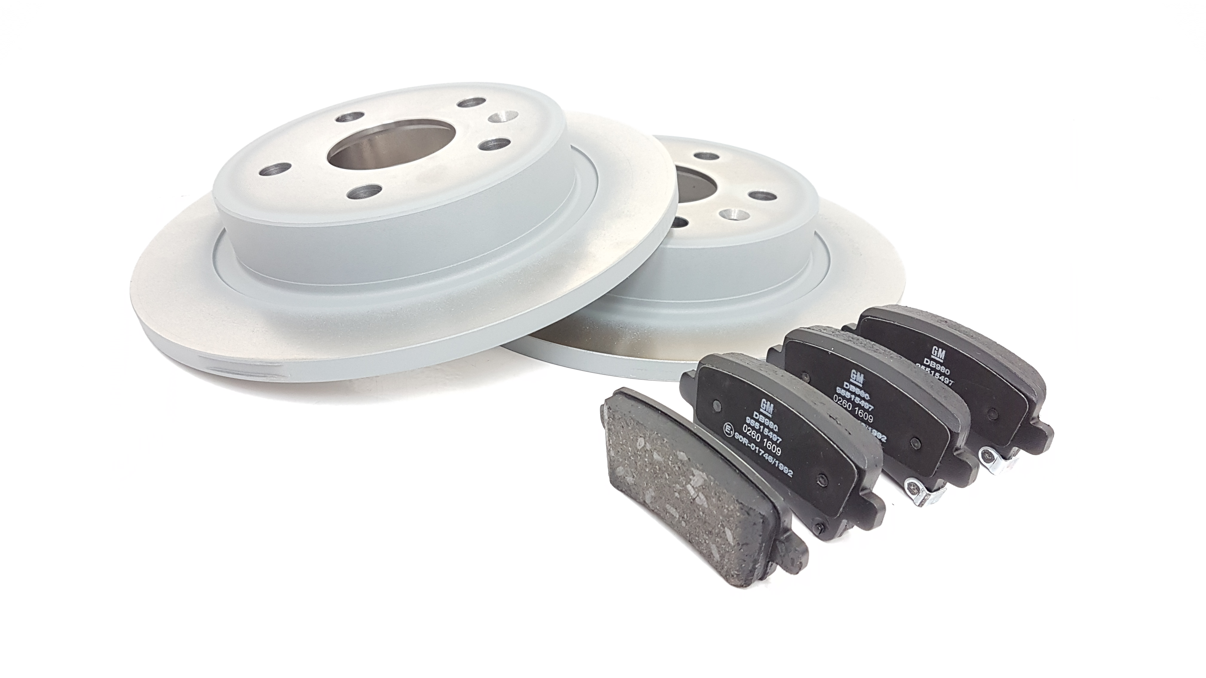 Rear Brake Pads Brake Discs 292mm Solid Vauxhall Insignia 2.0 BiTurbo CDTI 4x4