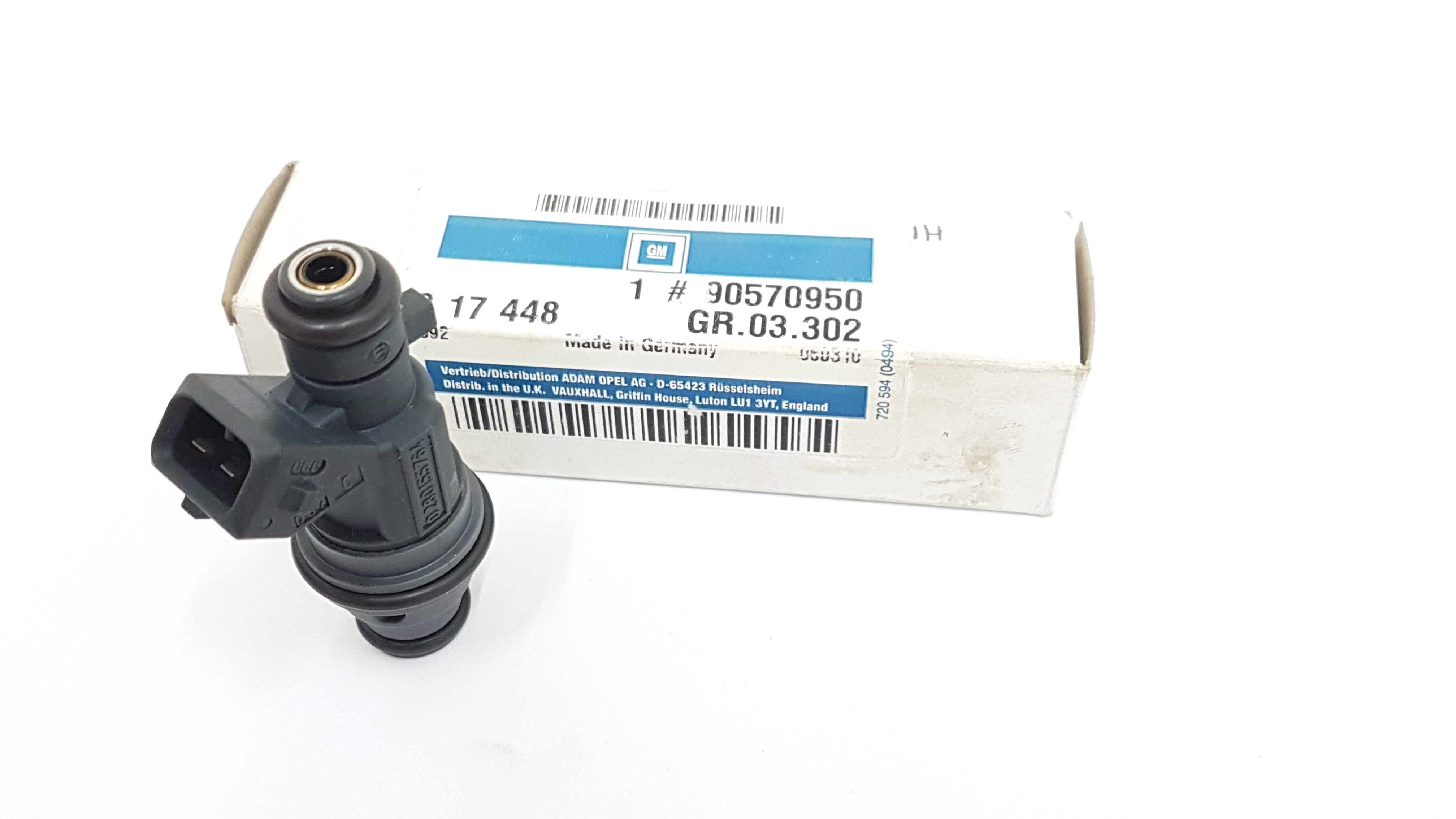 Vauxhall Corsa Petrol Fuel Injector Bosch 90570950 Ebay Griffin Filters