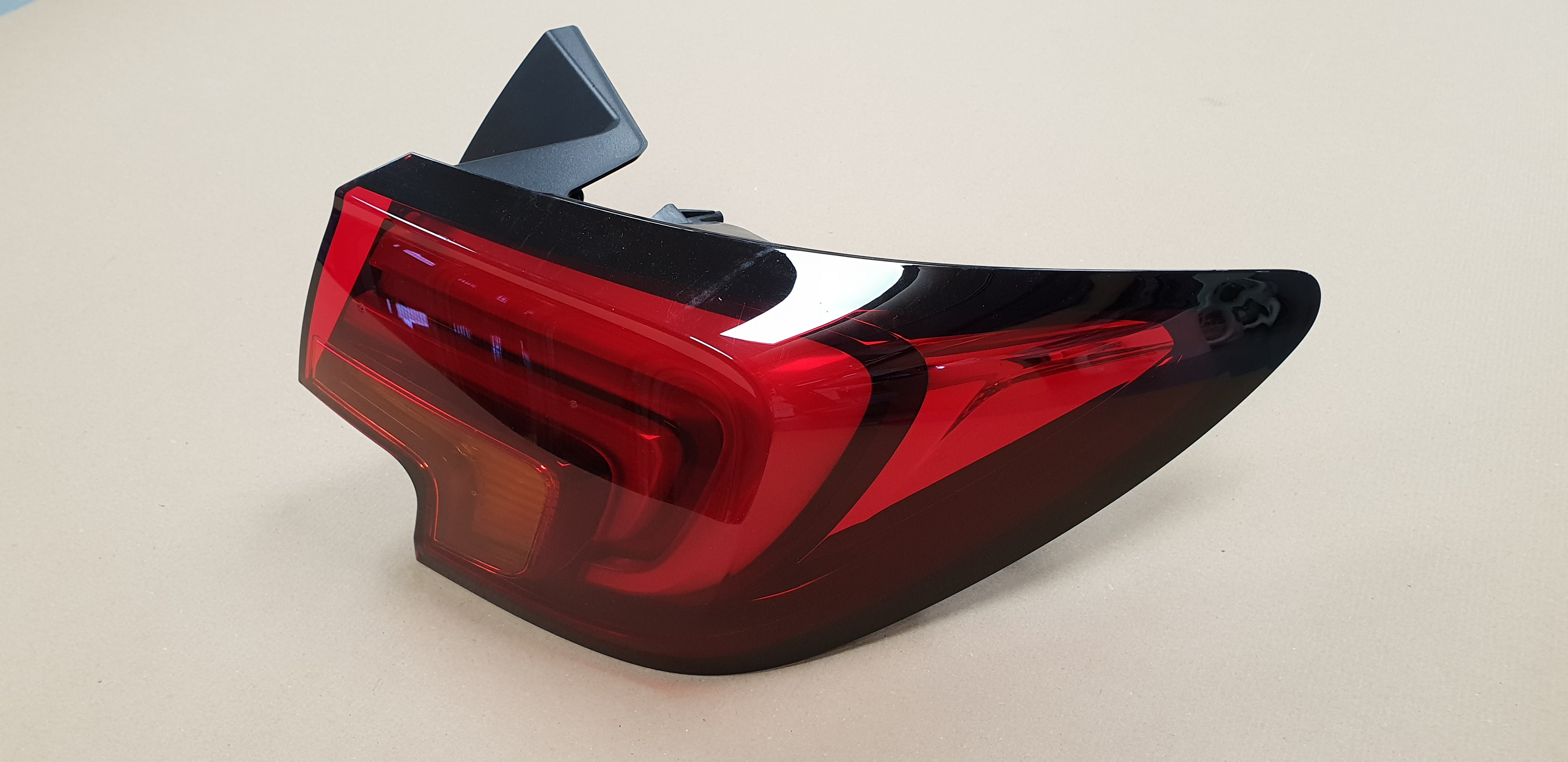 Vauxhall Astra K 16-18 Dark Red Rear Light Lamp Right Driver Off Side OEM