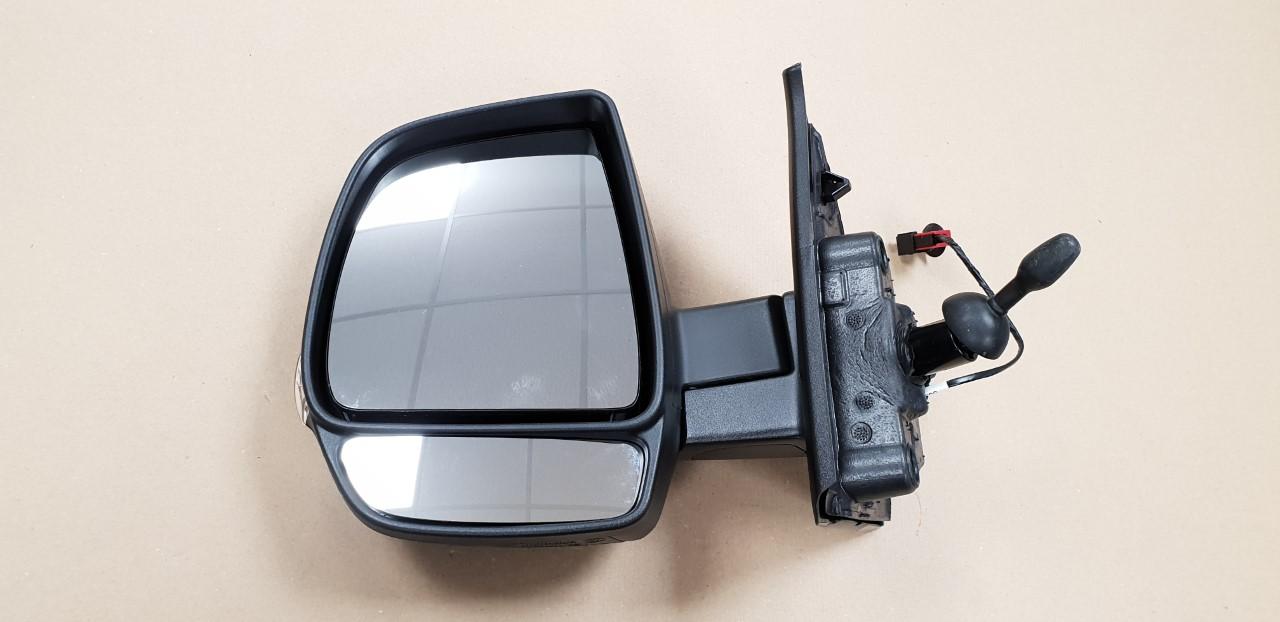 Vauxhall Combo MK3 2012-2018 Black Door Wing Mirror Cover N//S Passenger Left