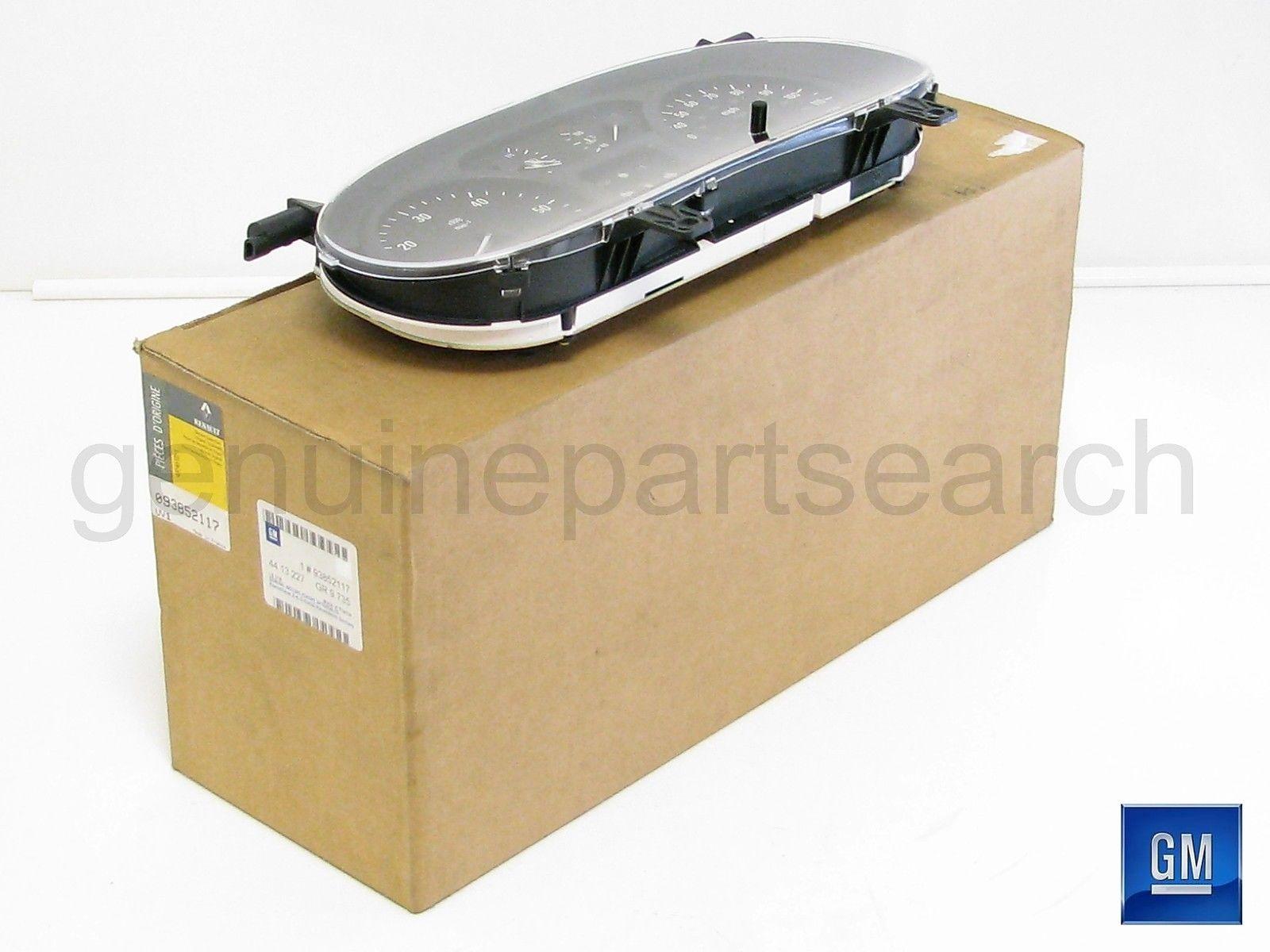 Instrument Speedo Clock 1.9DTi Diesel Vauxhall Vivaro 2001-2005 93852117