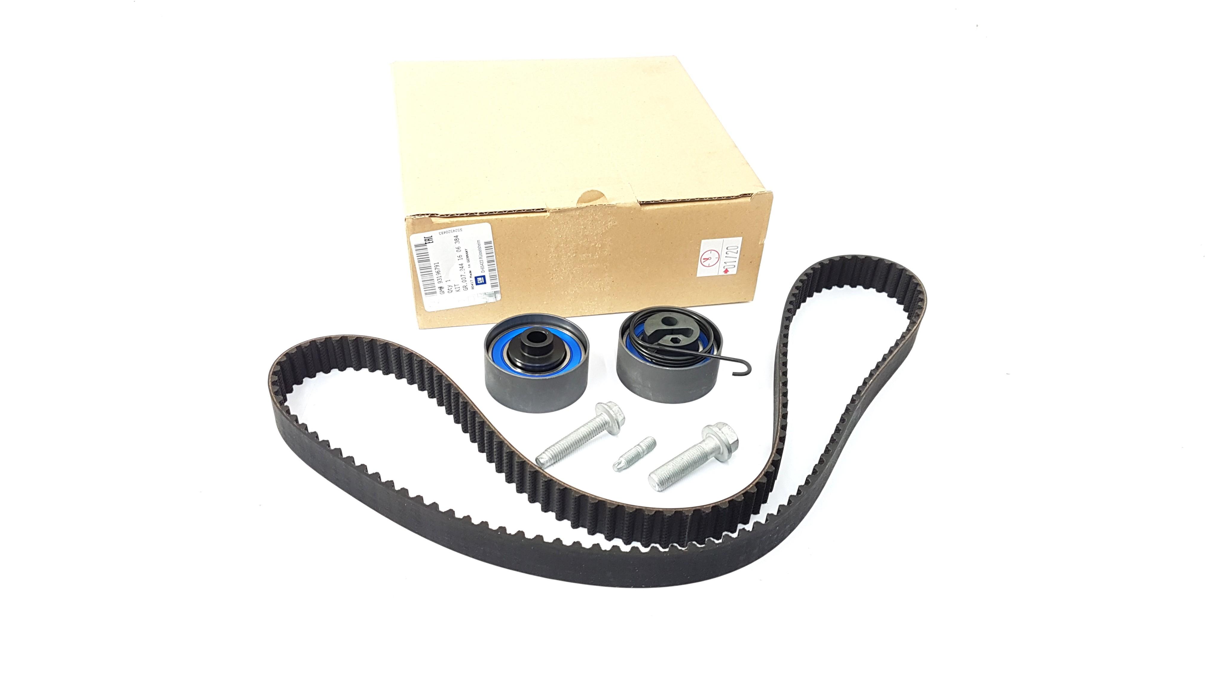 genuine vauxhall 1 7 diesel timing belt kit