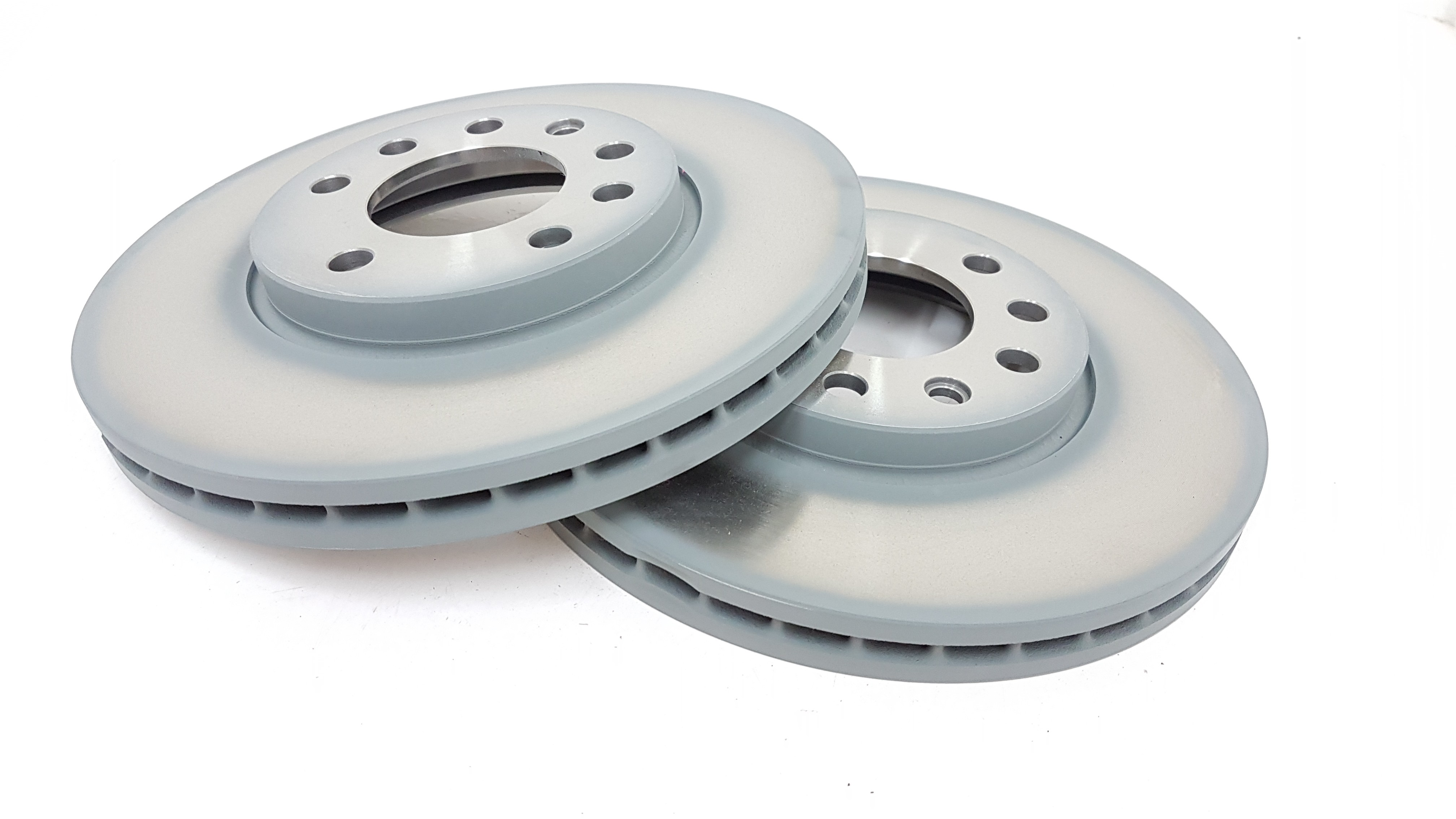 Front Delphi Brake Discs 280mm ø Vented Pair Replacement Axle Set BG3405