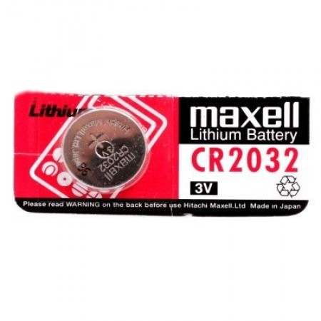 Maxell Remote Control Key Fob Battery CR2032