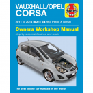 Vauxhall Vauxhall/Opel Corsa Petrol & Diesel (11-14) 60 to 64 - Car Manual  6335B at Autovaux Genuine Vauxhall Suppliers