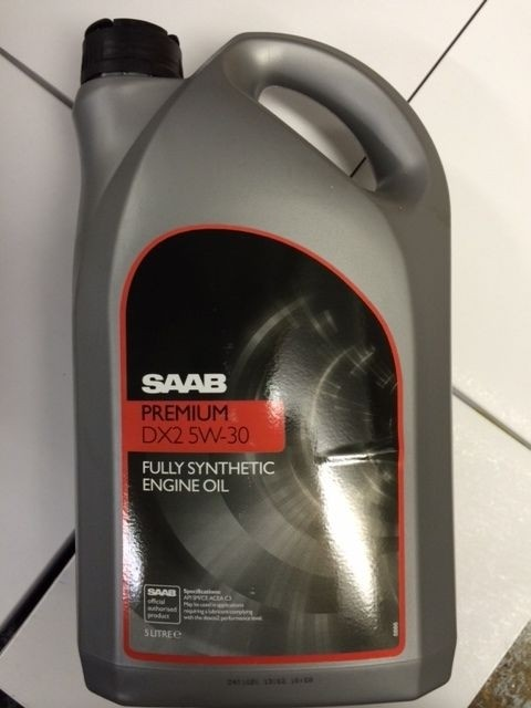 Saab Fully Synthetic Dexos 2 5W-30 Engine Oil 5 Litre