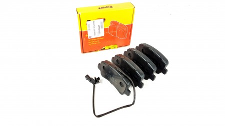 Vauxhall Rear Brake pad kit with Wear Sensors