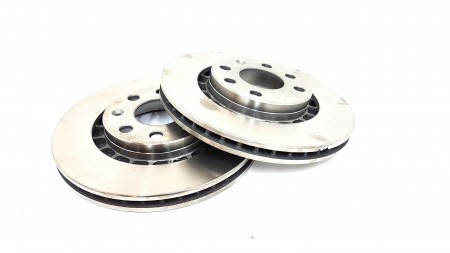 Automega Front Ventilated Brake Disc Set 120067310