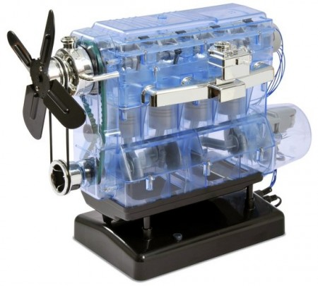 Build Your Own - Haynes 4 Cylinder Internal Combustion Engine With Sound