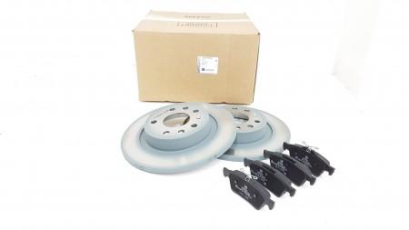 Vauxhall Rear Brake Disc & Pad Kit
