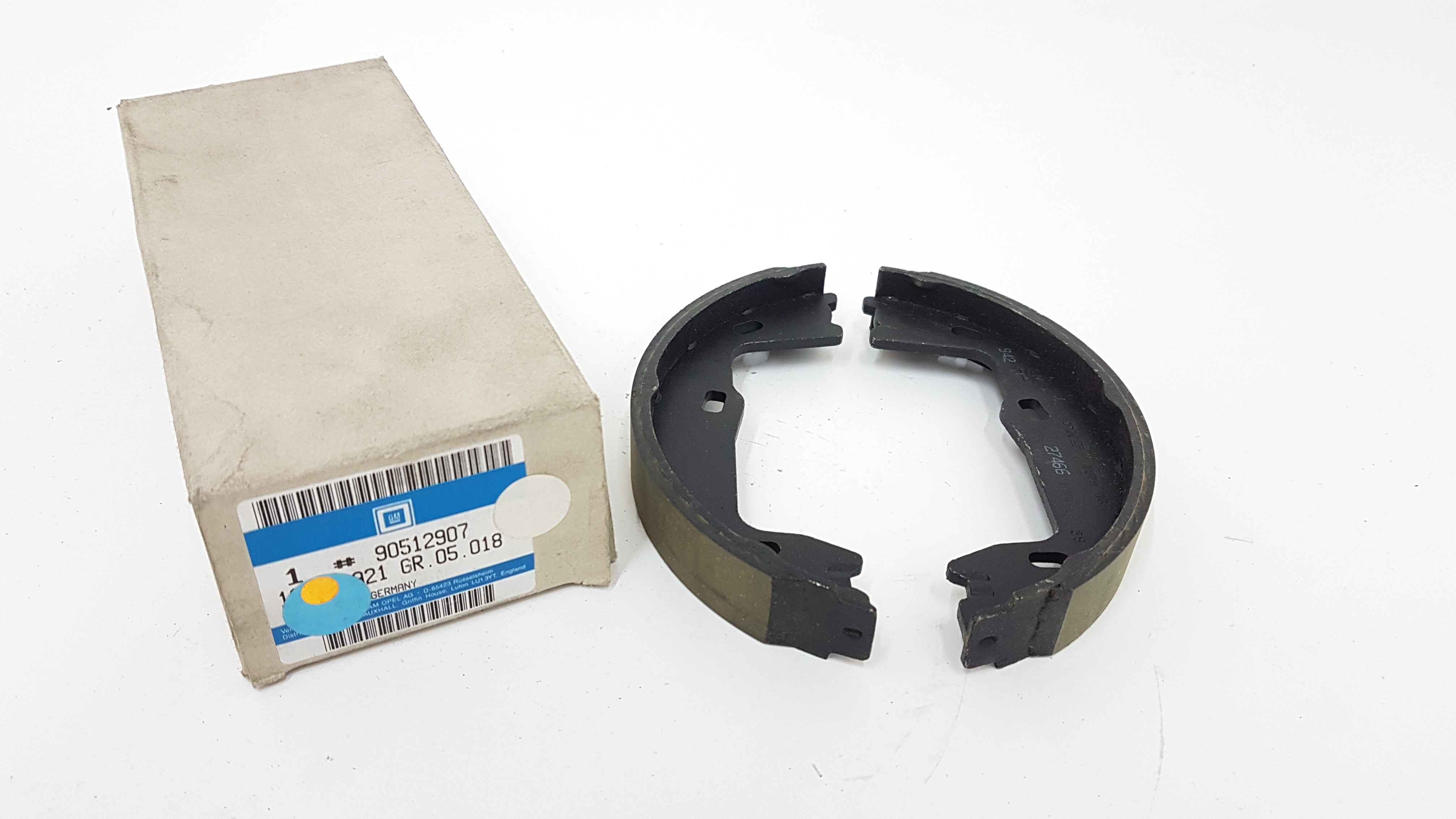 Vauxhall Astra Vectra Rear Axle Brake Shoes Pads NEW Drum Brakes Petrol Diesel