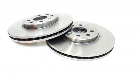 Delphi Front Plain Brake Disc (Pair) Fsx2