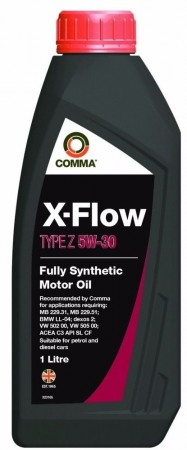 Comma XFZ1L X-Flow Type Z 5W30 Oil, 1 Litre