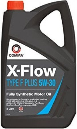 Comma XFFP5L X-Flow Type F Plus Fully Synthetic 5W30 Motor Oil 5 Litre For Ford