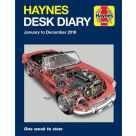 Vauxhall Haynes Desk Diary 2018  H6145 at Autovaux Genuine Vauxhall Suppliers