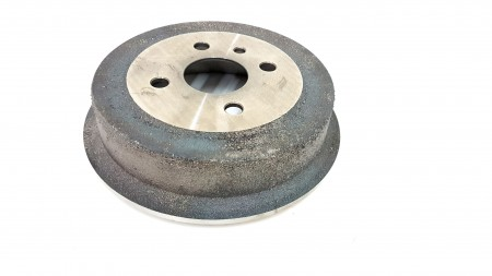 Automega 200mm x52 Rear Brake Drum 120082710