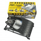 Vauxhall Heavy Duty Tyre Inflator Foot Pump Twin Barrel Analogue 791 at Autovaux Genuine Vauxhall Suppliers