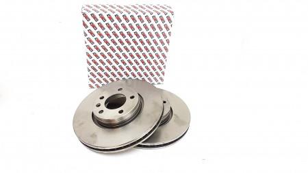 Vauxhall Corsa D, Front Brake Disc Set