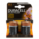 Vauxhall Duracell Plus Alkaline D Batteries - 2 Pack MN1300 at Autovaux Genuine Vauxhall Suppliers