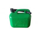 Vauxhall COSMOS 5L GREEN PLASTIC FUEL CAN 03105A at Autovaux Genuine Vauxhall Suppliers
