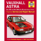 Vauxhall Vauxhall Astra Petrol (Oct 91 - Feb 98) J to R Reg - Car Manual 1832 at Autovaux Genuine Vauxhall Suppliers
