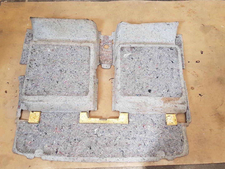 Genuine Vauxhall Zafira B Rear Boot Carpet Mat