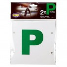 Vauxhall Kent Multi-Fix P Plates - Magnetic, Stick On & Tie On - L4000  L4000 at Autovaux Genuine Vauxhall Suppliers