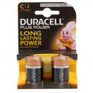 Vauxhall Duracell Plus C Alkaline Batteries - 2 Pack MN1400 at Autovaux Genuine Vauxhall Suppliers