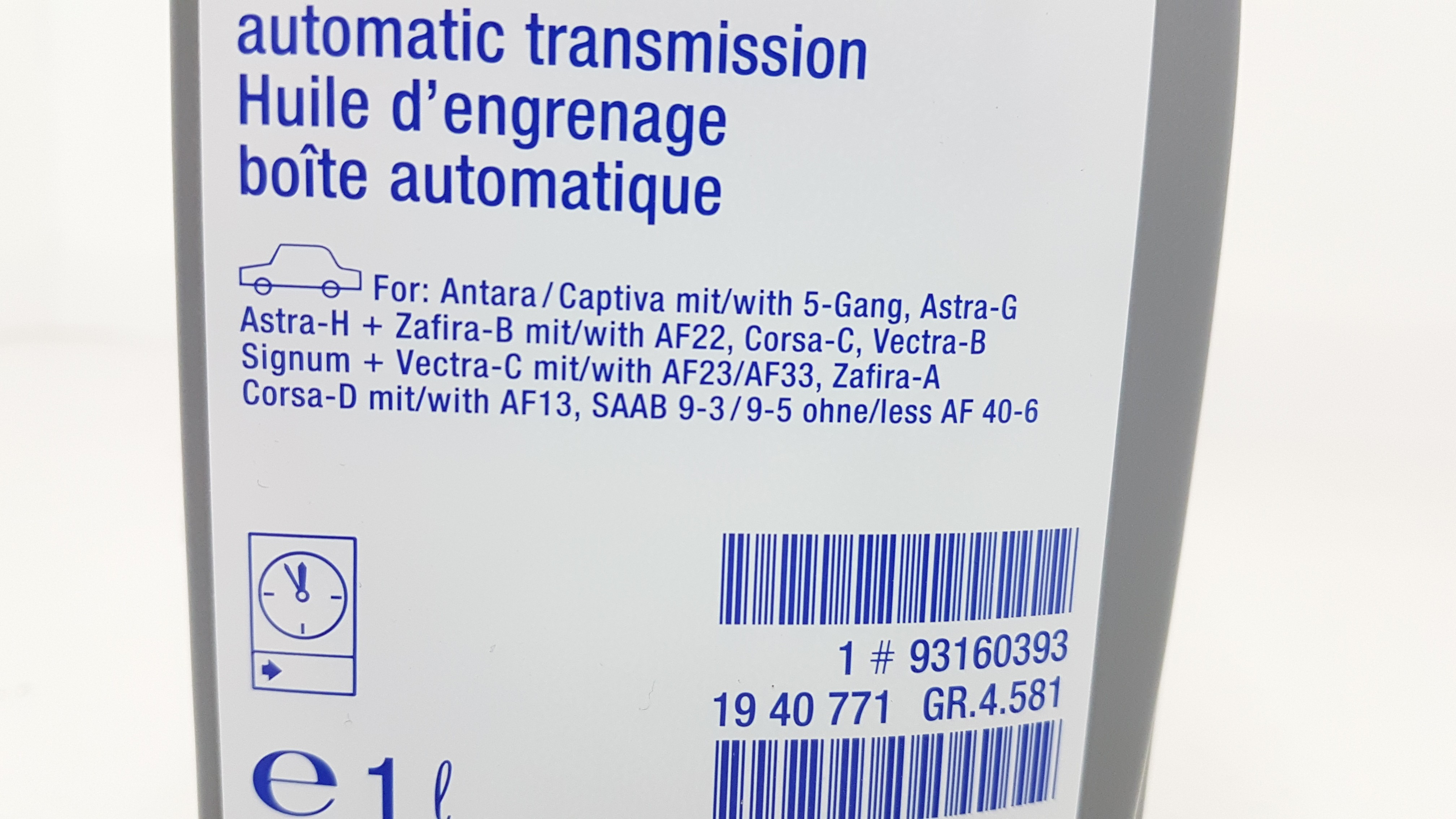 Saab 9-5 YS3E 1.9 tid genuine fram huile moteur filtre service de remplacement
