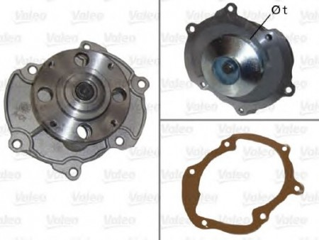 Water Pump & Seal - 92149009
