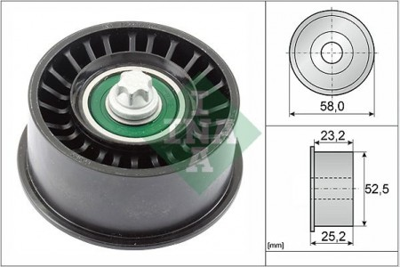 INA 532047810 Timing Belt Idler Pulley