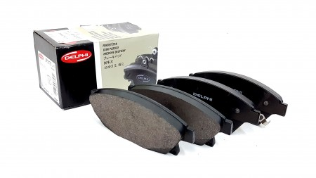 Delphi Front Brake Pad Axle Set