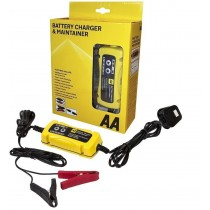 Vauxhall AA Battery Charger And Maintainer For Lead Acid Gel Batteries 5060114614956 at Autovaux Genuine Vauxhall Suppliers