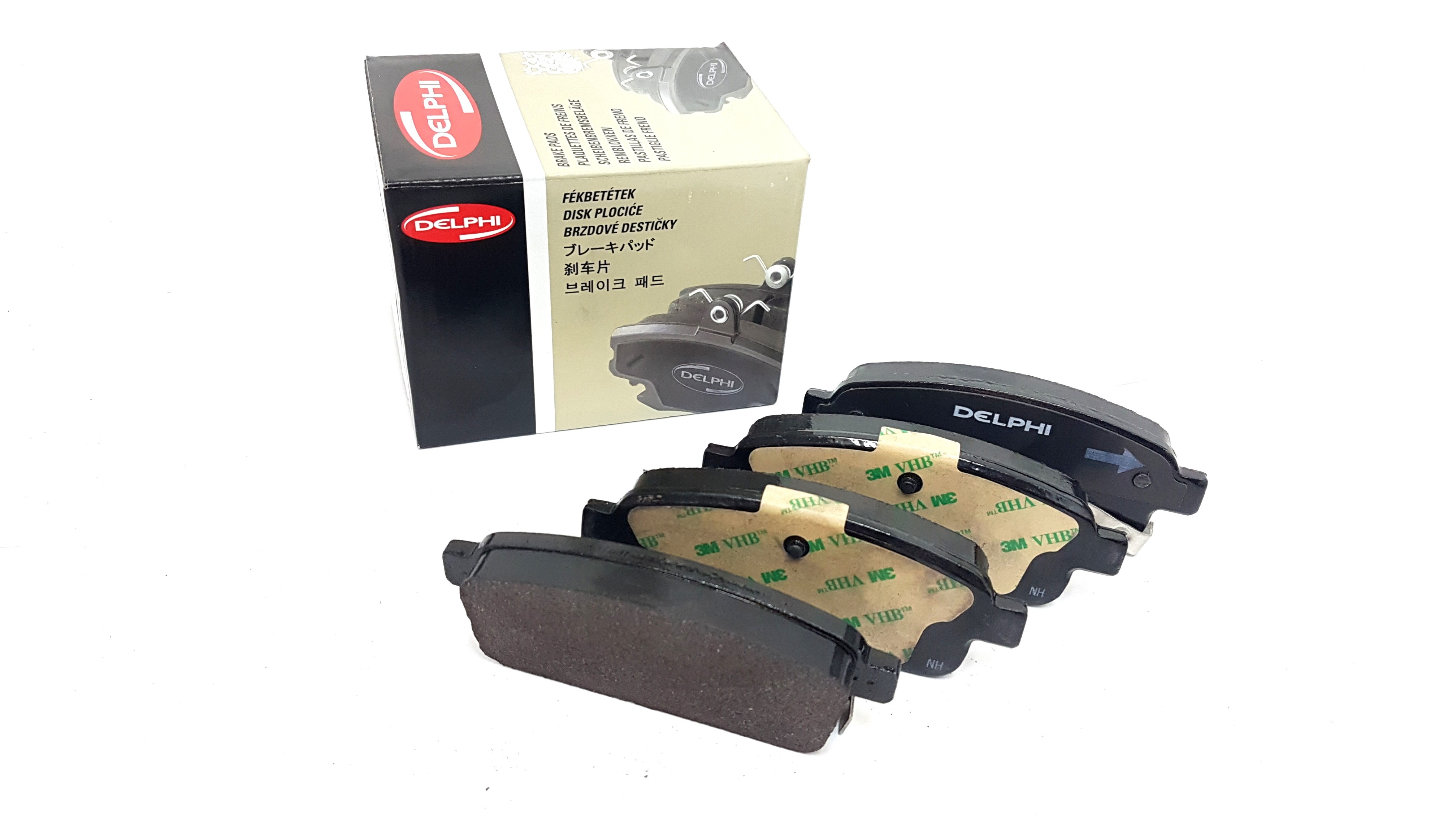 Rear Delphi Brake Pads Full Axle Set Opel Astra Sports Tourer 1.6 LPG 1.7 CDTI
