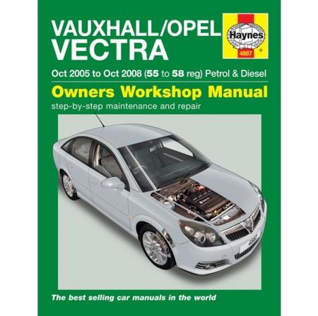 Vauxhall Opel Vectra 05 08 Car Manual