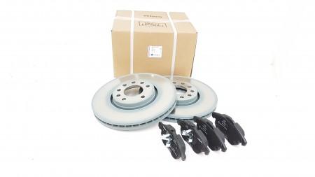 Vauxhall VECTRA C, Front brake Disc & Pad Kit