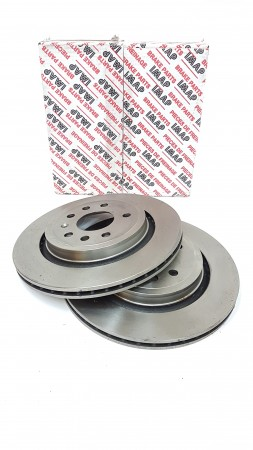 Vauxhall Vectra C And Signum Front Brake Disc Set By Automega
