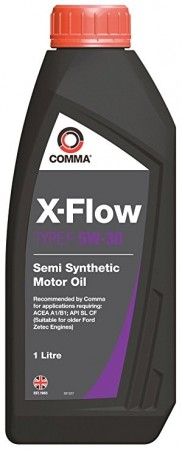 Comma XFF1L X-Flow Type F Semi Synthetic 5W-30 Motor Oil 1 Litre