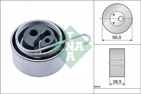 TIMING BELT TENSION PULLEY