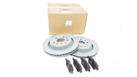 Genuine Vauxhall 292mm Rear Brake Disc & Pad Kit