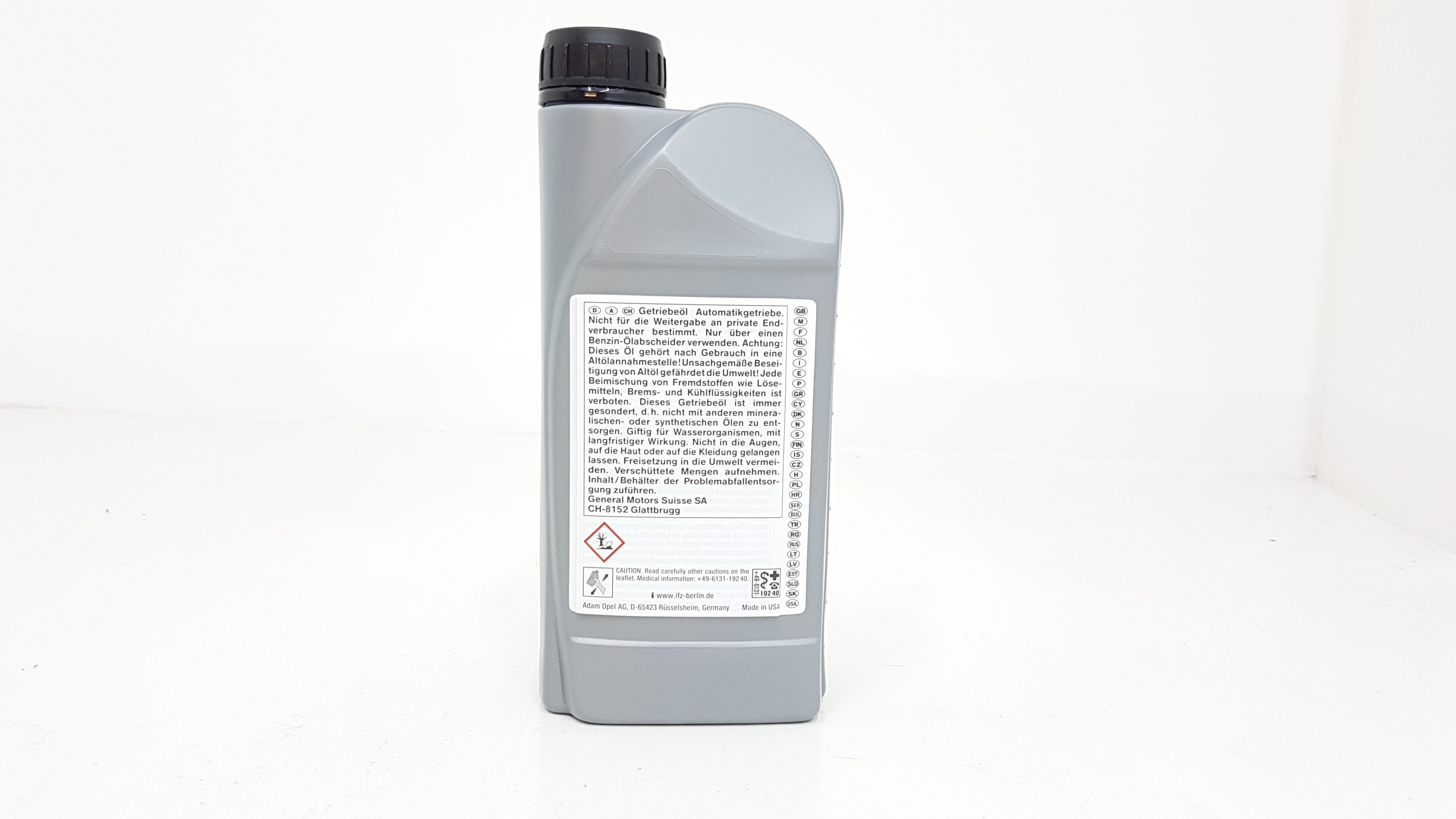 Genuine Vauxhall ATF 3309 Automatic Transmission Oil 1Litre