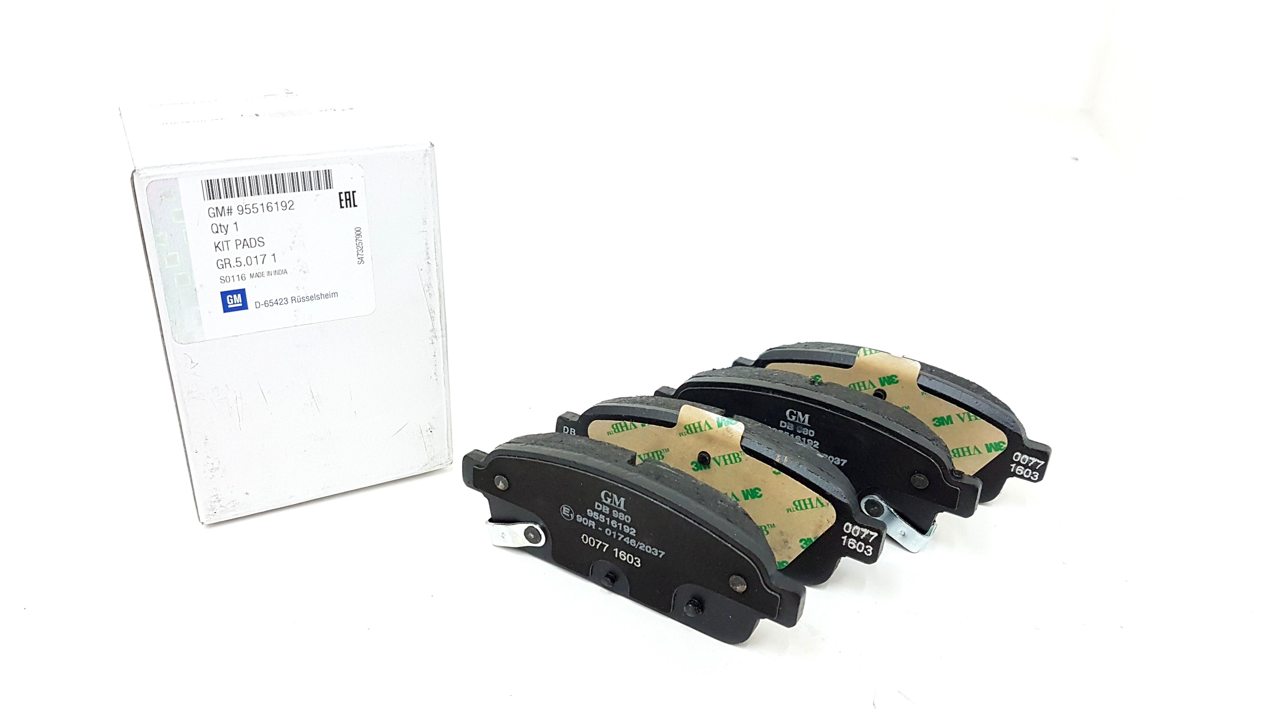 Rear Brake Pads For Vauxhall Astra GTC 2.0 CDTI