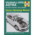 Vauxhall Vauxhall/Opel Astra Diesel (May 04 - 08) 04 to 08 Reg - Car Manual  4733A at Autovaux Genuine Vauxhall Suppliers