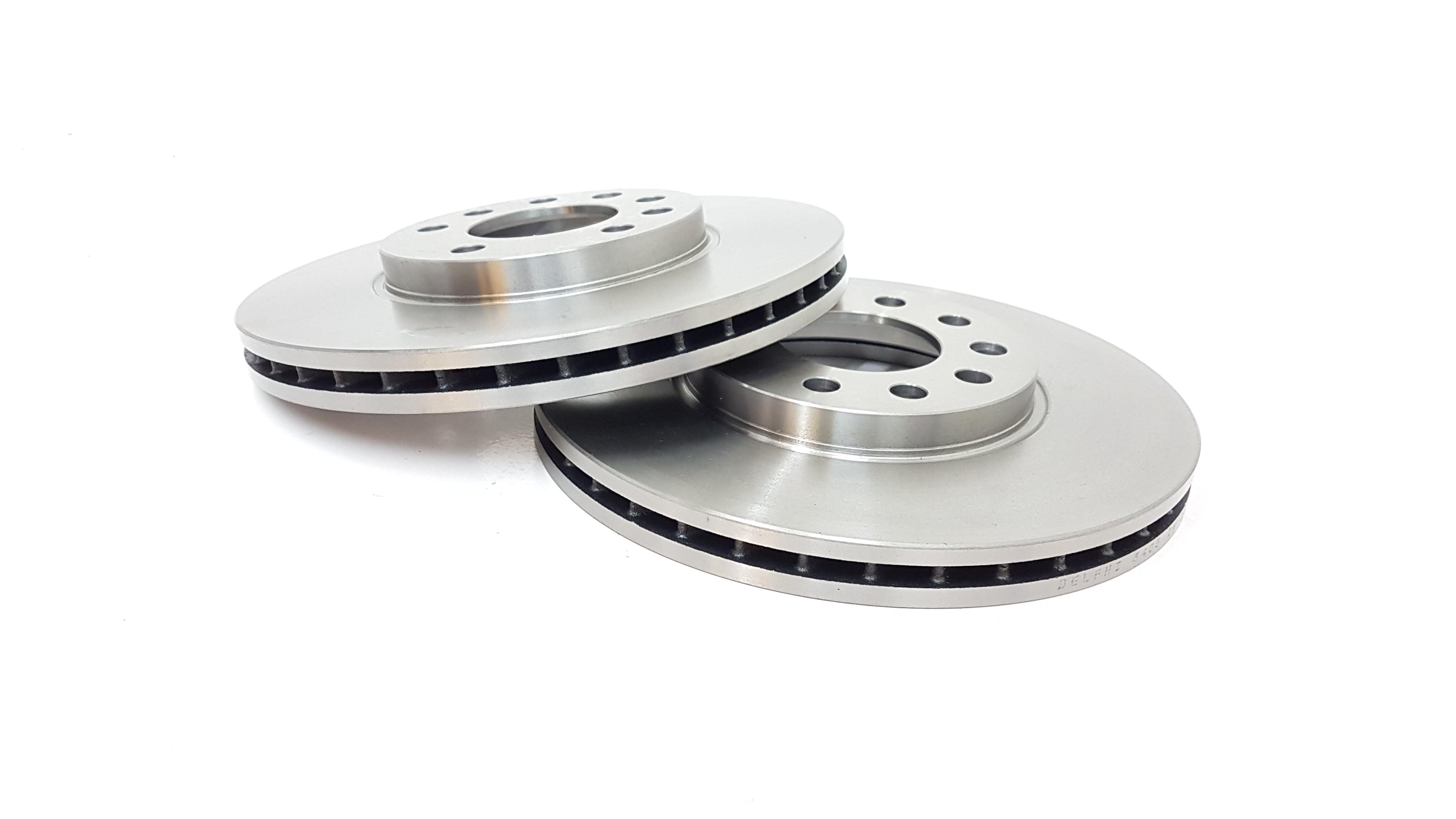 Brake Discs 280mm Vented Opel Zafira B 1.6 CNG Turbo 1.8 2.2 Front Brake Pads