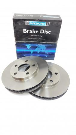 Vauxhall Sintra Front Brake Disc Set