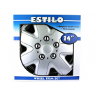 Vauxhall 14 INCH ESTILO WHEEL TRIMS BLIZZARD 62771 at Autovaux Genuine Vauxhall Suppliers