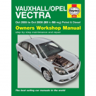 Vauxhall Vauxhall Opel Vectra (05-08) - Car Manual  4887B at Autovaux Genuine Vauxhall Suppliers