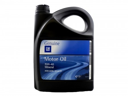 15W-40 Mineral Engine Oil 5Ltr