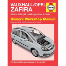 Vauxhall Vauxhall/Opel Zafira Petrol & Diesel (05 - 09) 05 to 09 Reg - Car Manual  4792 at Autovaux Genuine Vauxhall Suppliers